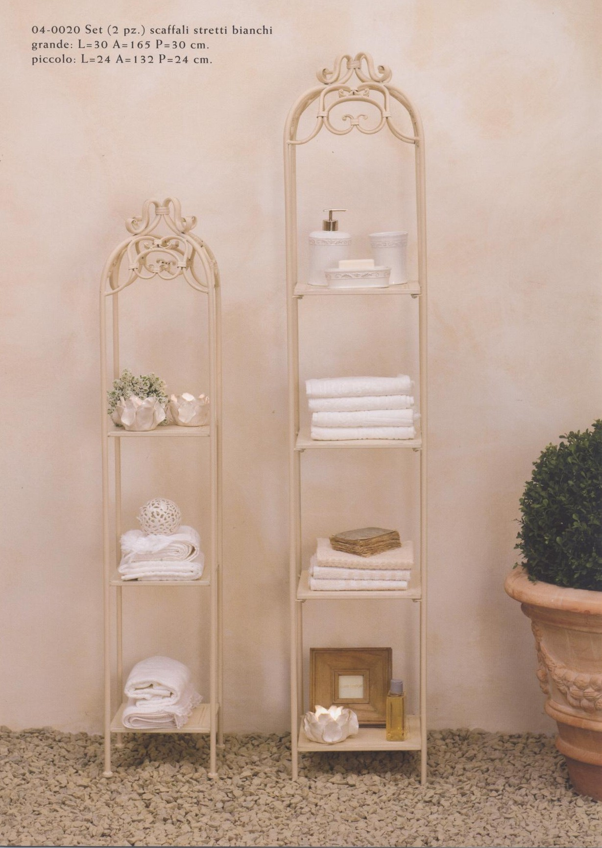 Mobiletti e accessori bagno in ferro battuto Hancock - Luxe Lodge
