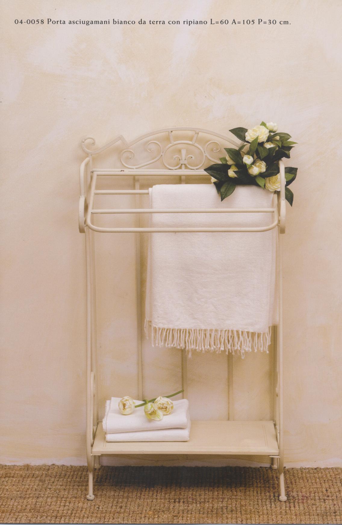 Mobiletti e accessori bagno in ferro battuto hancock luxe lodge - Tovaglie da bagno ...
