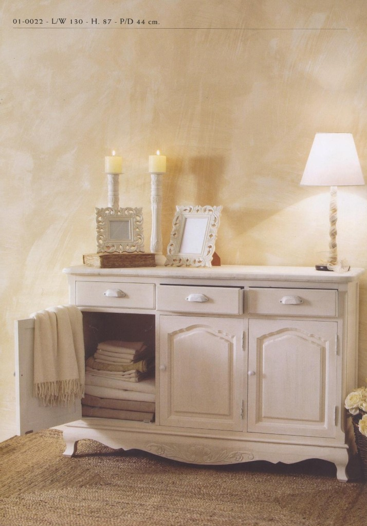 mobili provenzali country rustici bianchi serie provence