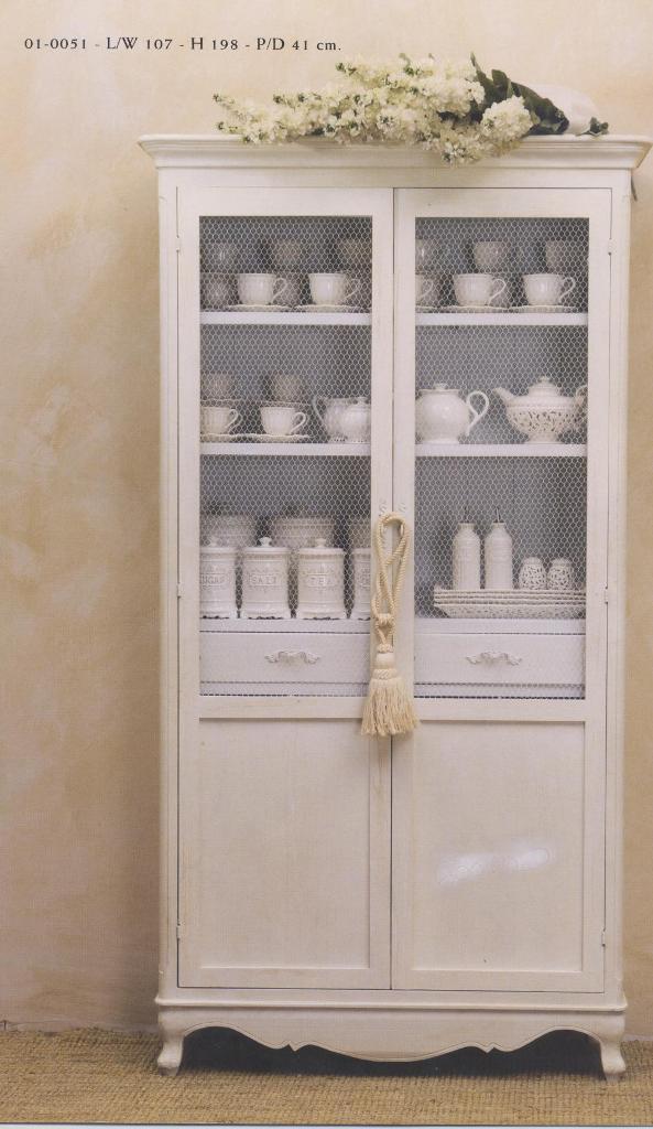Credenze provenzali country provence bianche mobili per la cucina - Mobili stile country ...
