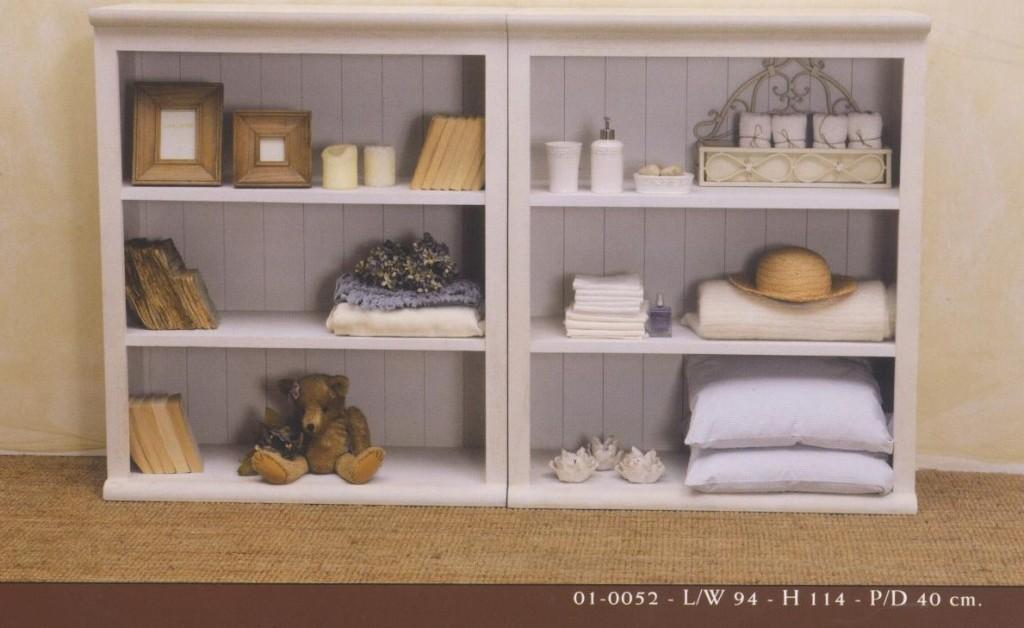 Vetrinette da parete provenzali country provence bianche - Vetrinette da bagno ...
